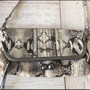 Jessica Simpson Snake Print Crossbody Bag